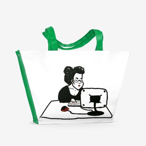 Пляжная сумка «бизнеследи»