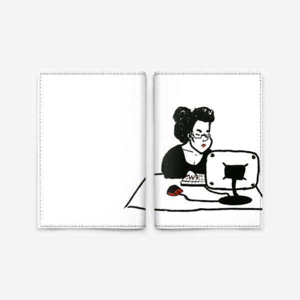 Обложка для паспорта «бизнеследи»