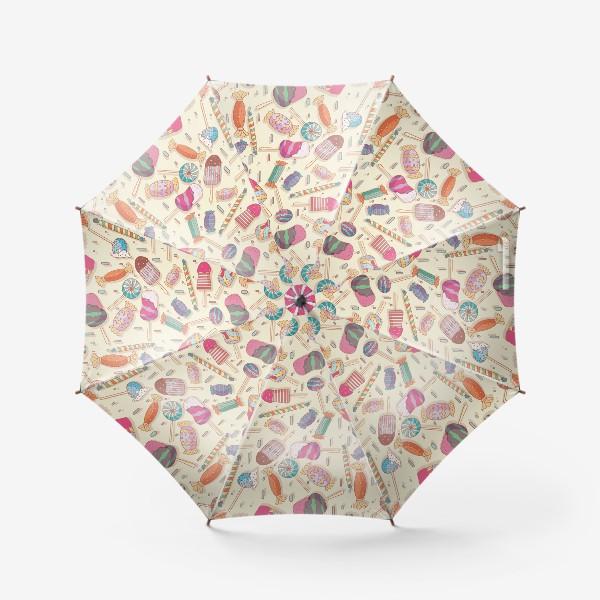 Зонт «Сладкий паттерн»