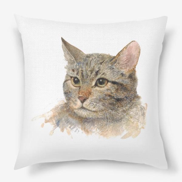 Подушка «Портрет кота»