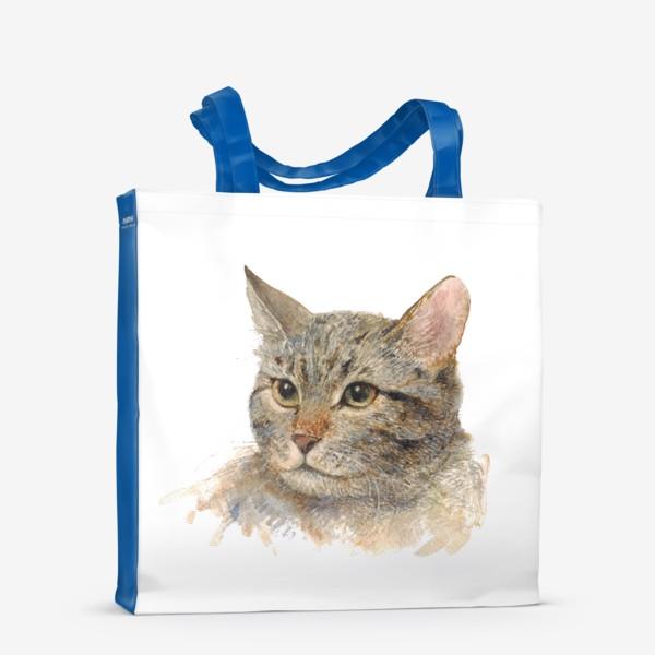 Сумка-шоппер «Портрет кота»