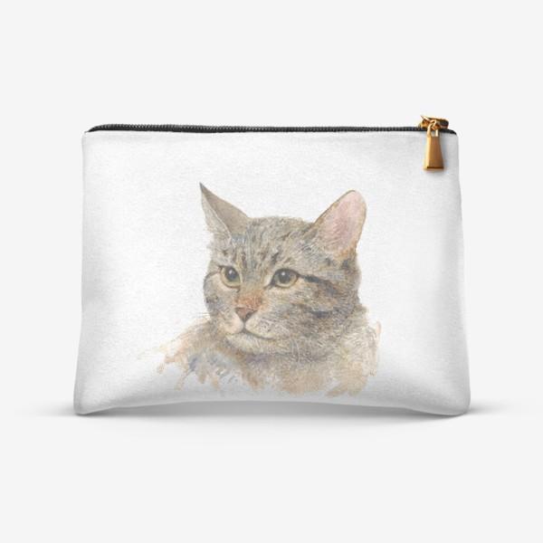 Косметичка «Портрет кота»