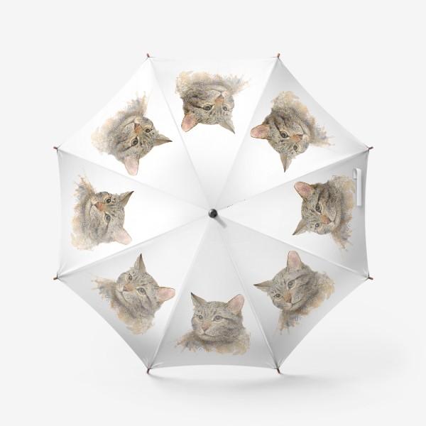 Зонт «Портрет кота»