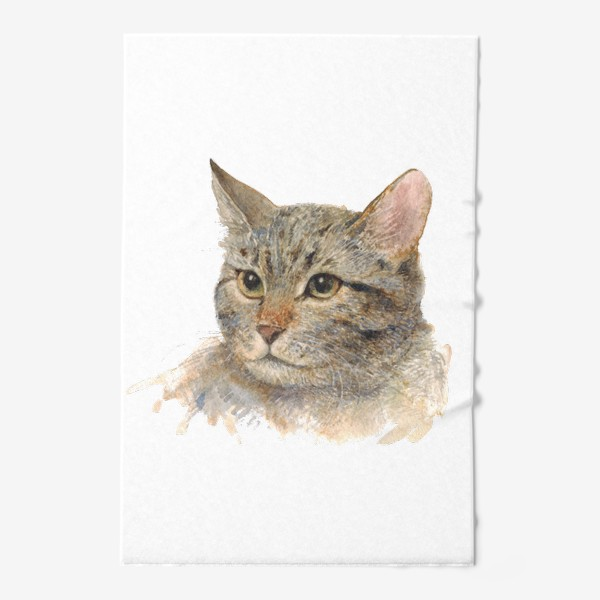 Полотенце «Портрет кота»