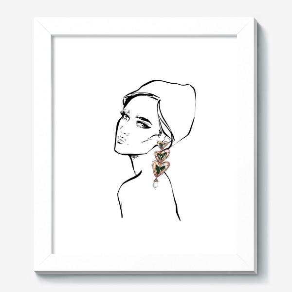 Картина «Girl with earring »