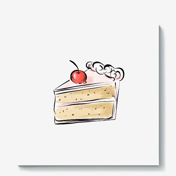 Холст «Cake »