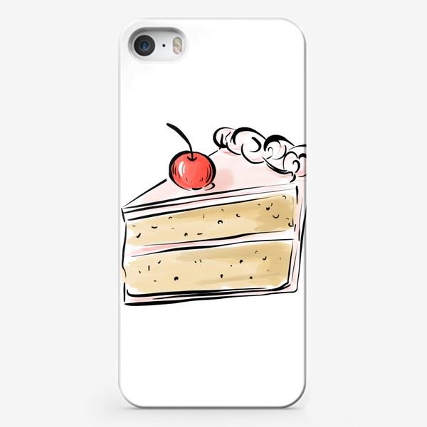 Чехол iPhone «Cake »