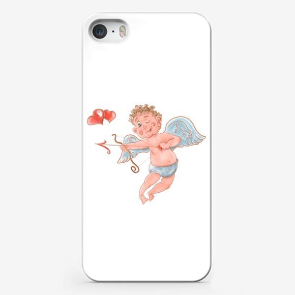 Чехол iPhone «Амур. День влюбленных»