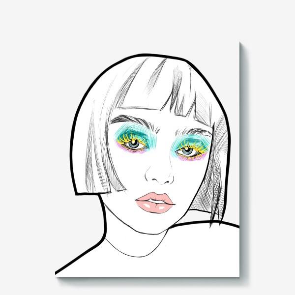 Холст «Graphic girl »