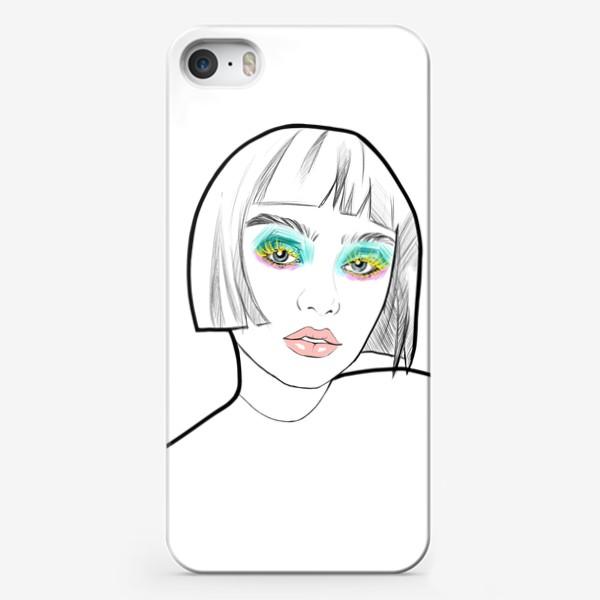 Чехол iPhone «Graphic girl »