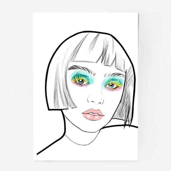 Постер «Graphic girl »