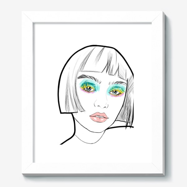 Картина «Graphic girl »