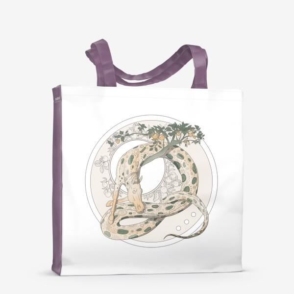 Сумка-шоппер «Snake»
