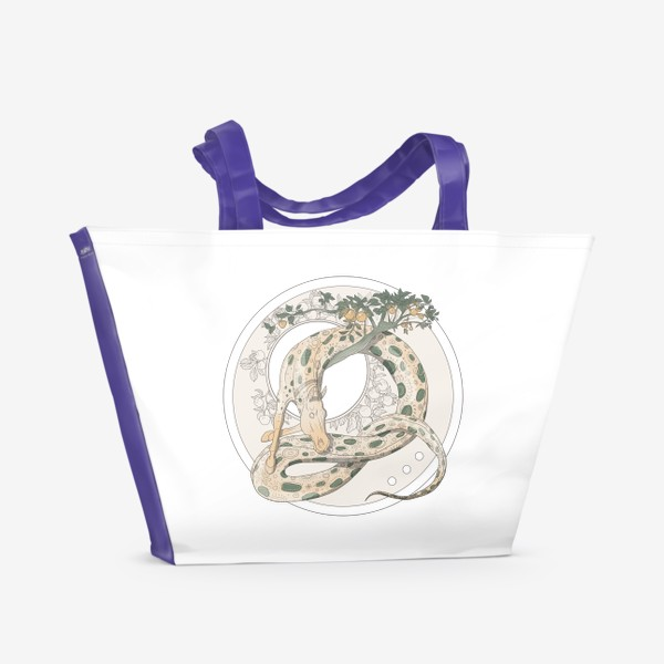 Пляжная сумка «Snake»