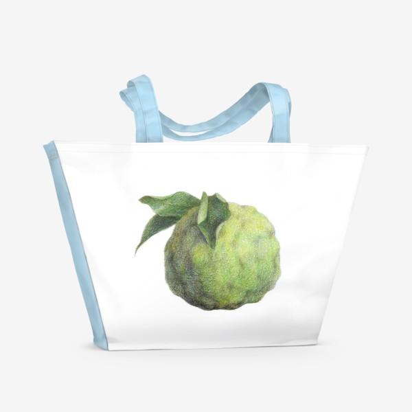 Пляжная сумка «Цитрус Юзу»