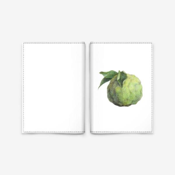 Обложка для паспорта «Цитрус Юзу»