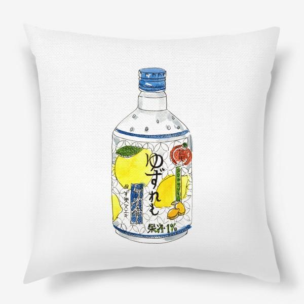 Подушка «Японский напиток»