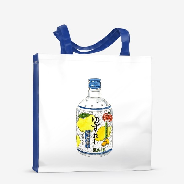 Сумка-шоппер «Японский напиток»
