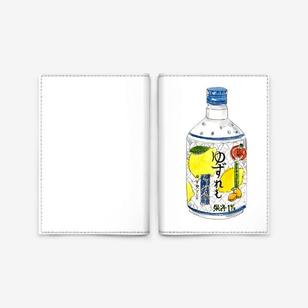 Обложка для паспорта «Японский напиток»