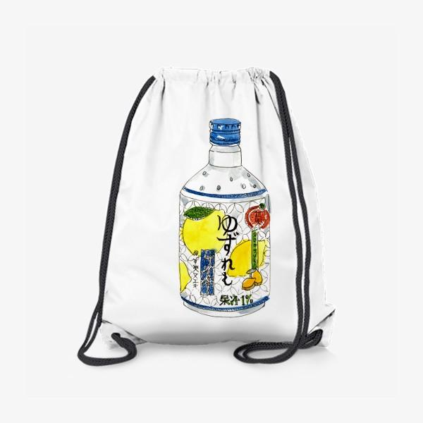 Рюкзак «Японский напиток»