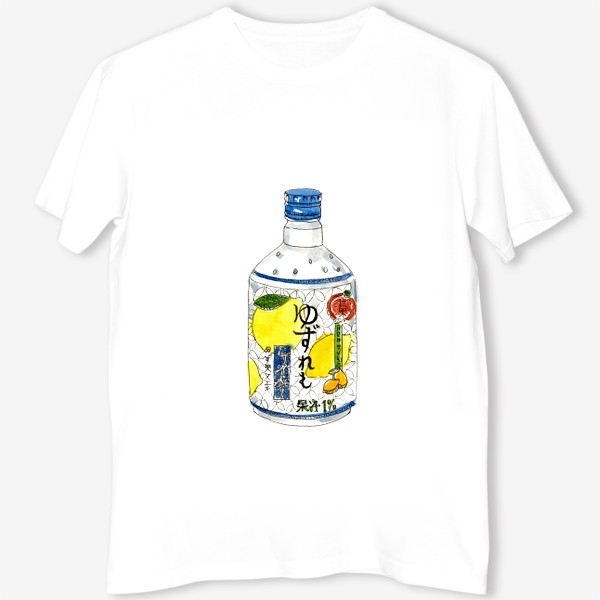Футболка «Японский напиток»