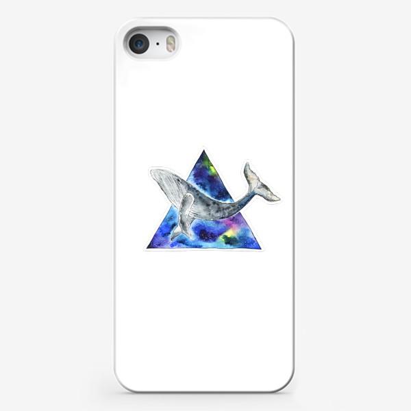 Чехол iPhone «Галактический кит                                 »
