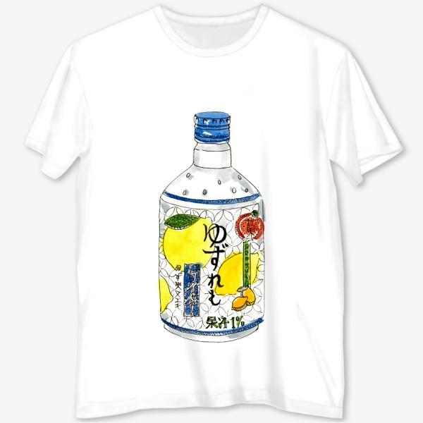 Футболка с полной запечаткой «Японский напиток»