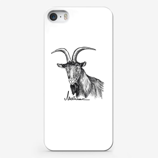 Чехол iPhone «Любимый... Козерог. Козел. Шутка»