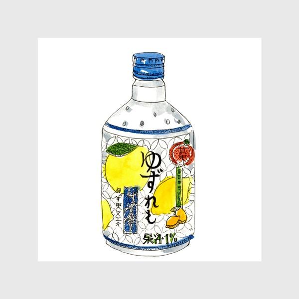 Шторы «Японский напиток»