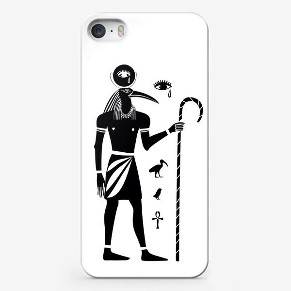 Чехол iPhone «Бог Тот. Древний Египет.»