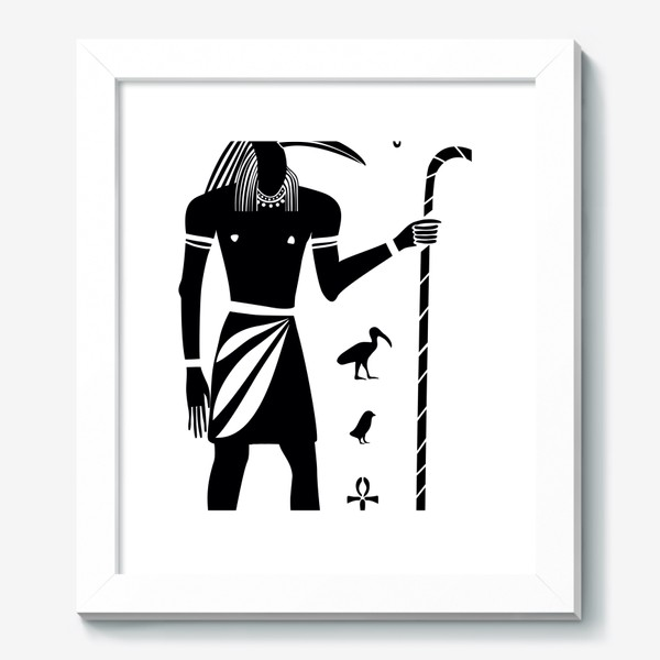Картина «Бог Тот. Древний Египет.»