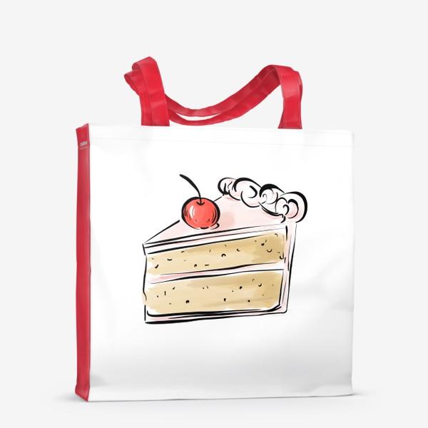 Сумка-шоппер «Cake »