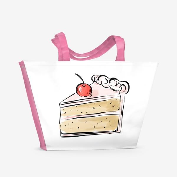 Пляжная сумка «Cake »