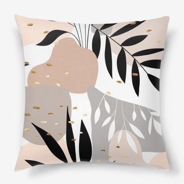 Подушка «Пастельный паттерн»