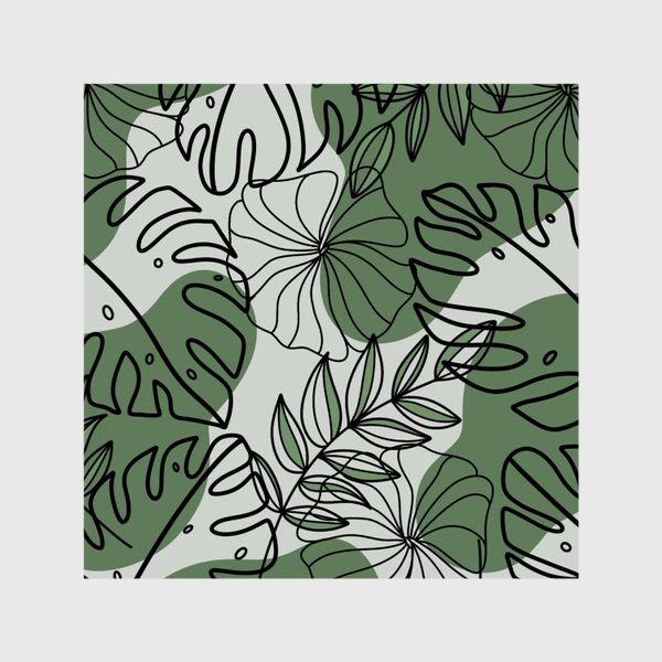 Шторы «Паттерн Растения»
