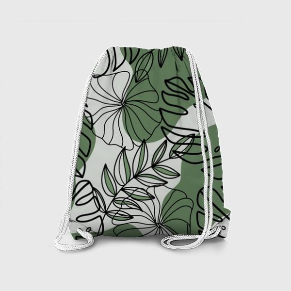 Рюкзак «Паттерн Растения»