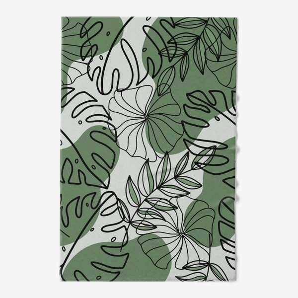 Полотенце «Паттерн Растения»