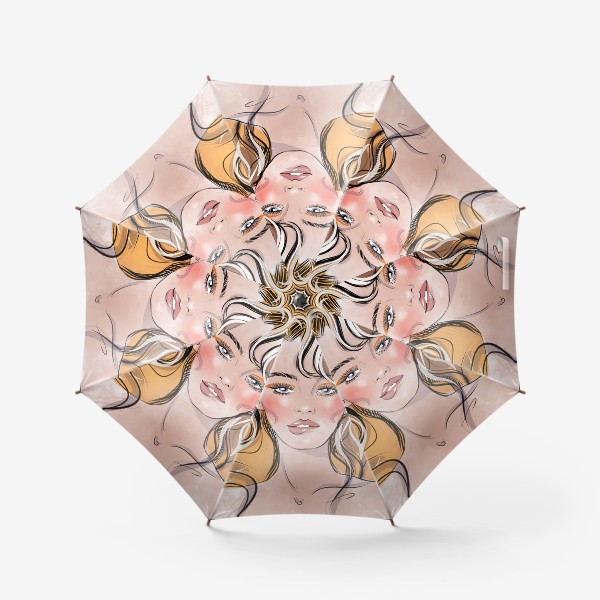 Зонт «Жёлтое безумие»
