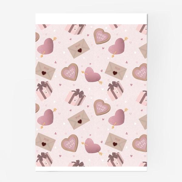 Постер «Паттерн «День Валентина»»