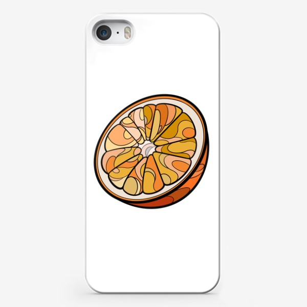 Чехол iPhone «Рисунок «Цитрус»»