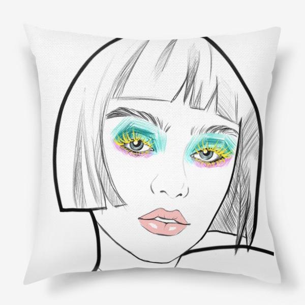 Подушка «Graphic girl »