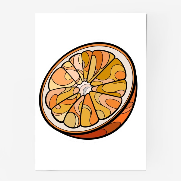 Постер «Рисунок «Цитрус»»