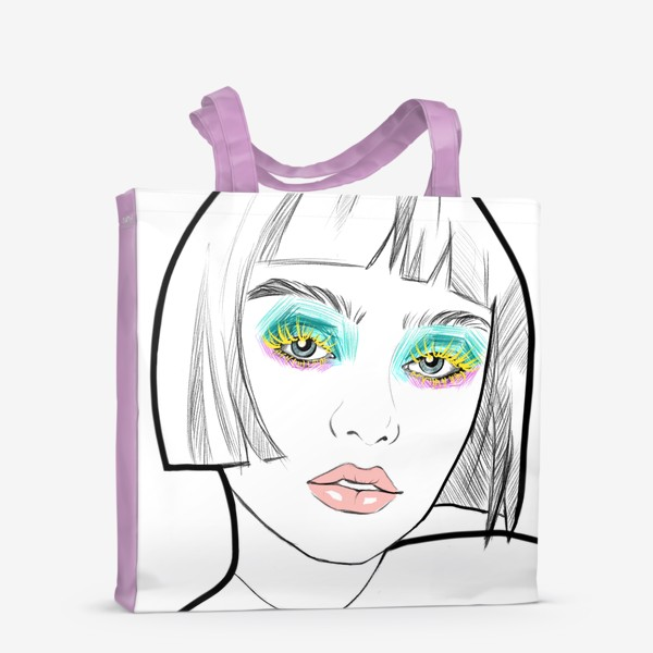 Сумка-шоппер «Graphic girl »