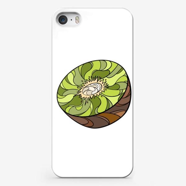 Чехол iPhone «Рисунок «Киви»»