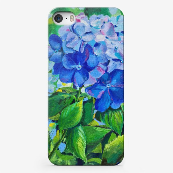 Чехол iPhone «веточка гортензии»