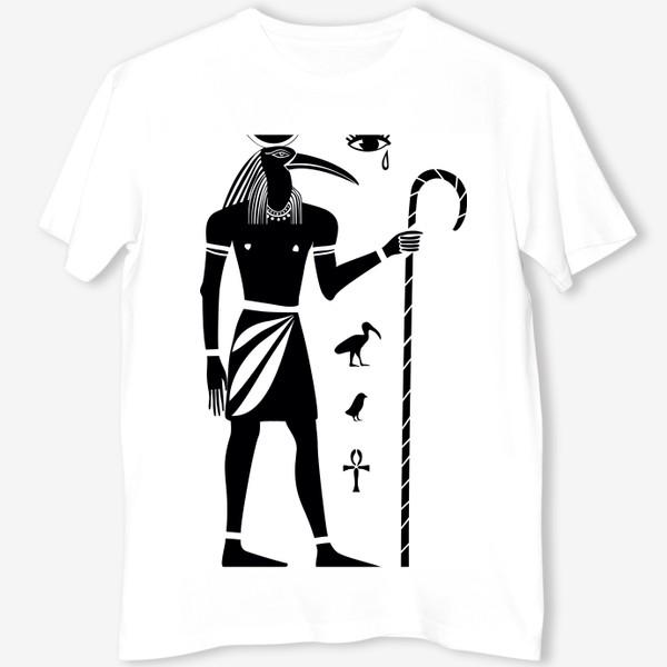 Футболка «Бог Тот. Древний Египет.»