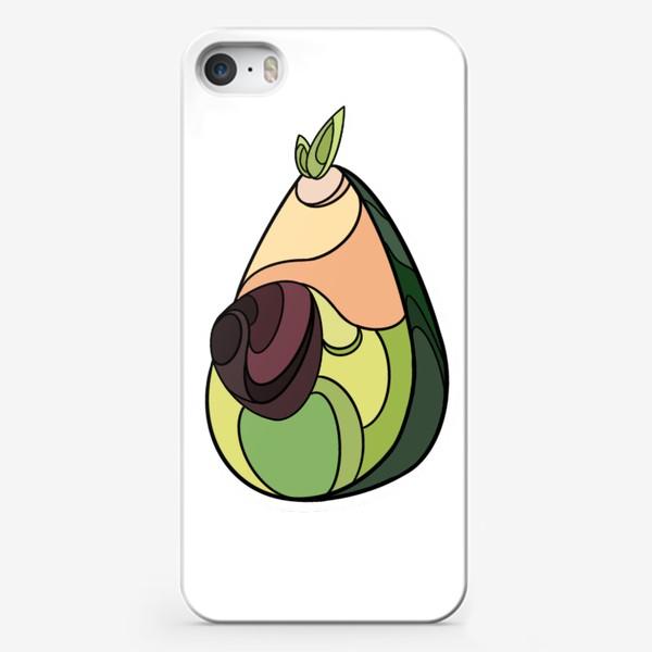 Чехол iPhone «Рисунок «Авокадо»»