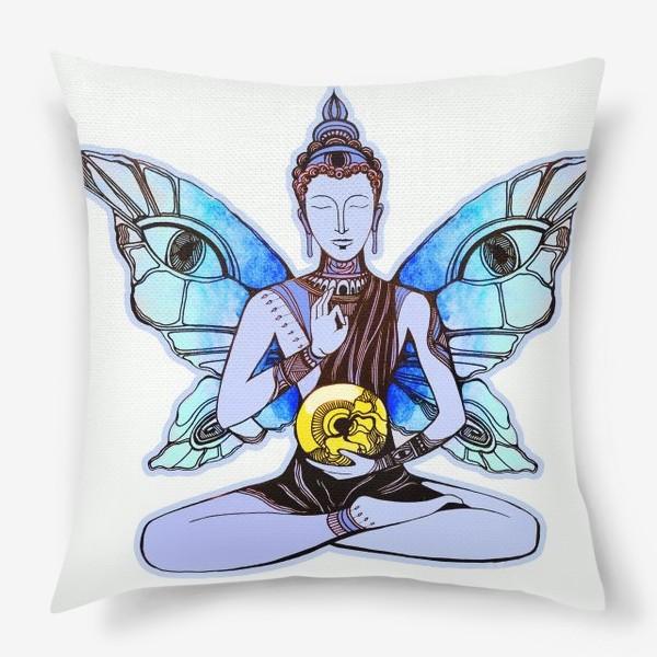 Подушка «БуддаБабочка»