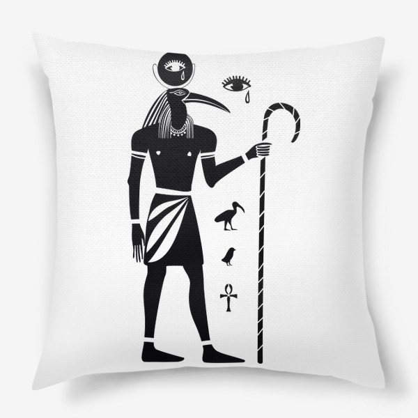 Подушка «Бог Тот. Древний Египет.»