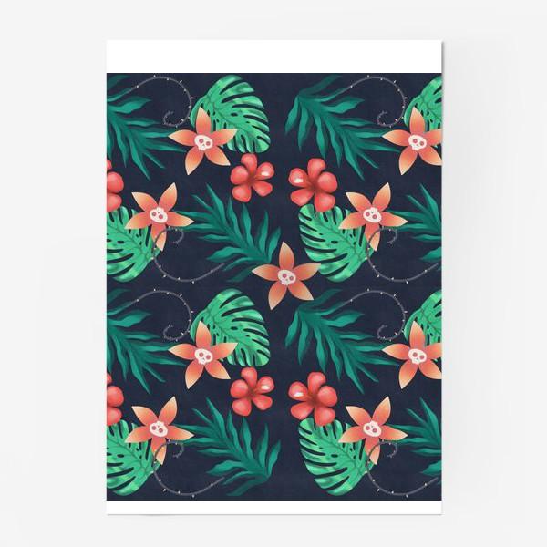 Постер «Паттерн «Гавайи с изюминкой»»